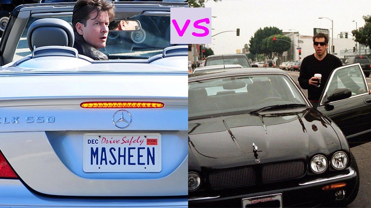 Charlie Sheen Cars Vs Ben Stiller 2018