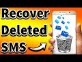 watch he video of how to recover deleted sms from android mobile without root