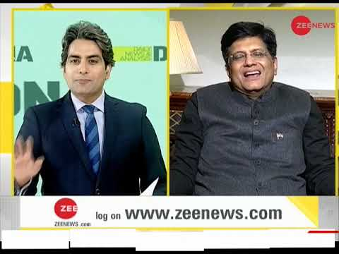 Exclusive: Sudhir Chaudhary speaks to Piyush Goyal on Budget 2019