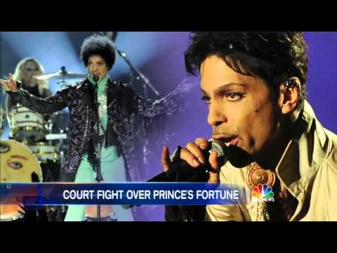 Prince Estate on NBC Nightly News Mp3