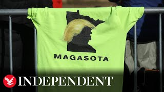 Download lagu Live: President Donald Trump campaigns in Minnesota
