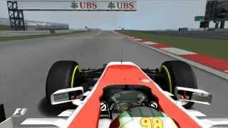 Grand Prix 4 - 2015 - Roberto Merhi - Shanghai International Circuit - Onboard Lap