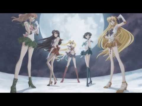 PRETTY GUARDIAN SAILORMOON Crystal TRAILER with Moonlight Densetsu