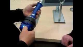 Установка температуры на аппарате для сварки горячим воздухом Exotherm(, 2014-12-25T08:48:18.000Z)