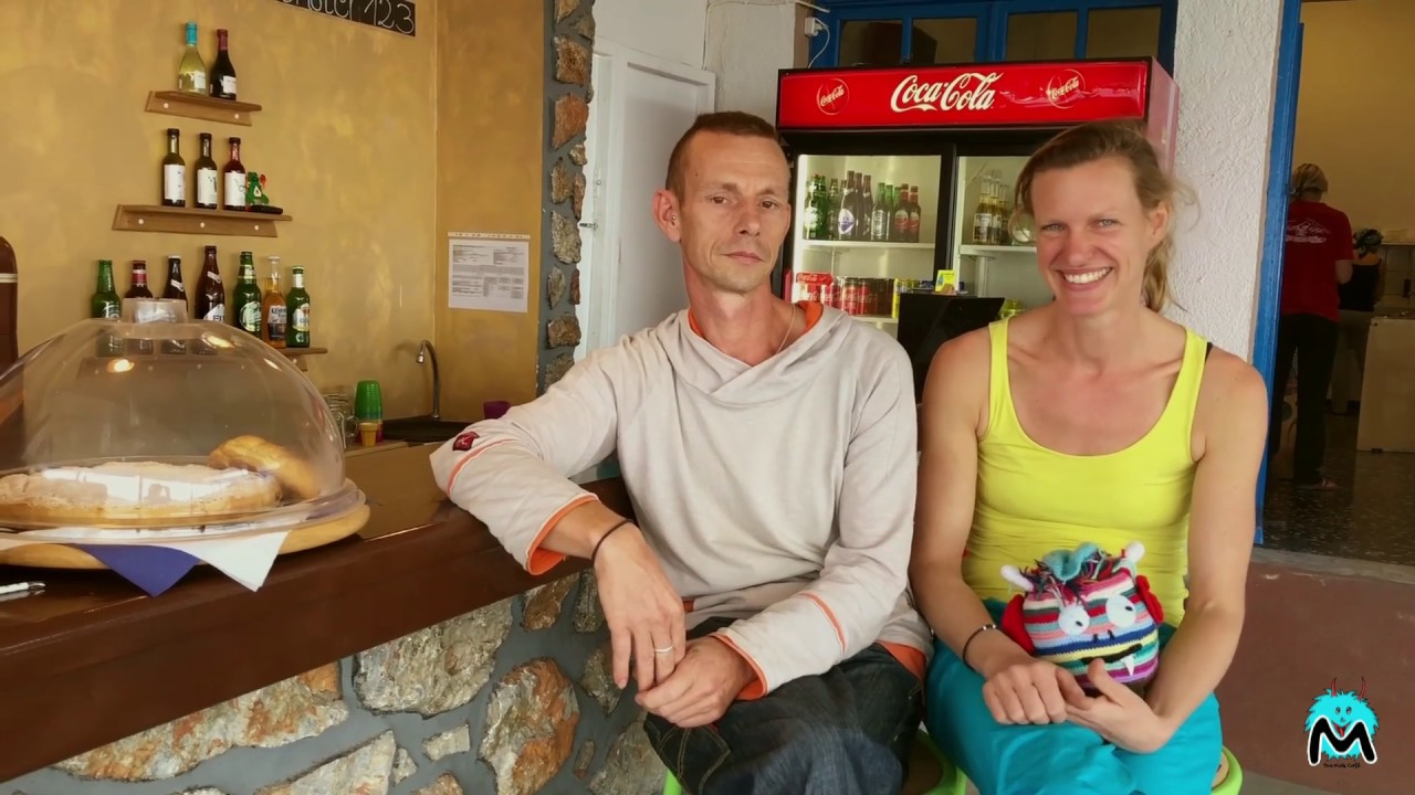 Saskia und Josen about Monster Café Childcare Kalymnos