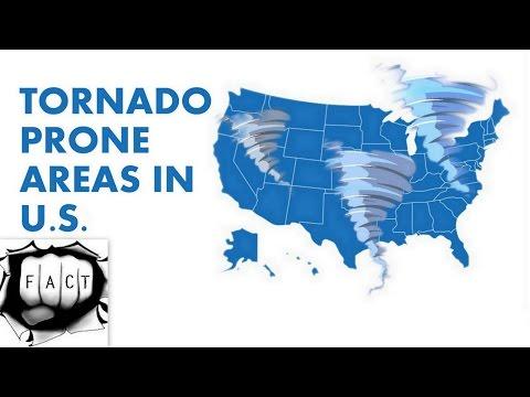 Top 10 Tornado Prone Areas In United States