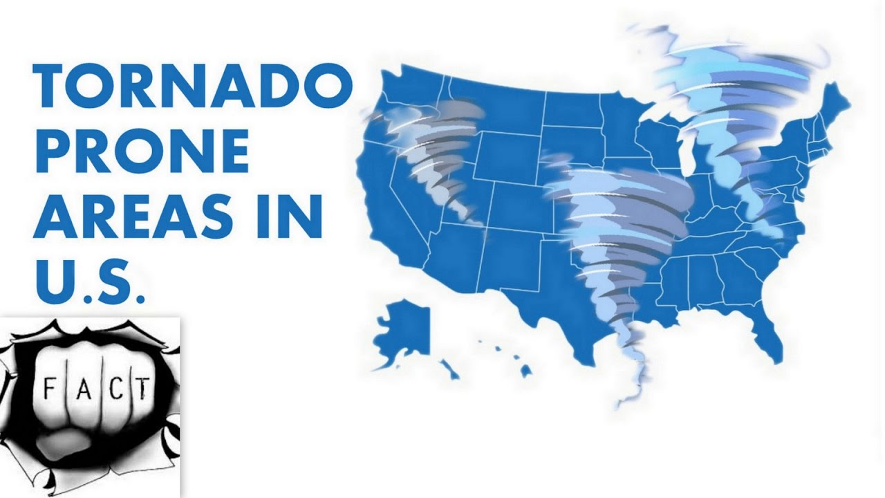 top 10 tornado prone areas in united states youtube