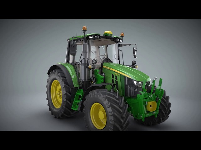 John Deere - Serie 6M - Animación