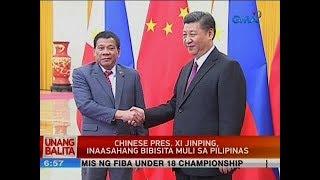UB: Chinese Pres. Xi Jinping, inaasahang bibisita muli sa Pilipinas