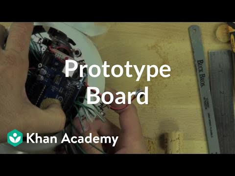 Prototype board | Home-made robots | Electrical engineering | Khan Academy