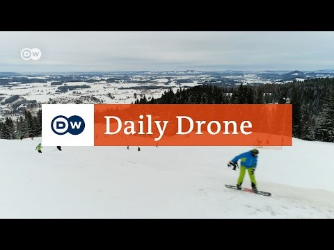 #DailyDrone: Alpspitzbahn cable car in Nesselwang | Check-in