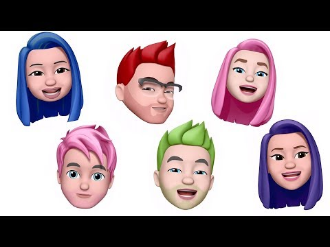 YOUTUBER Memoji's (Animoji)