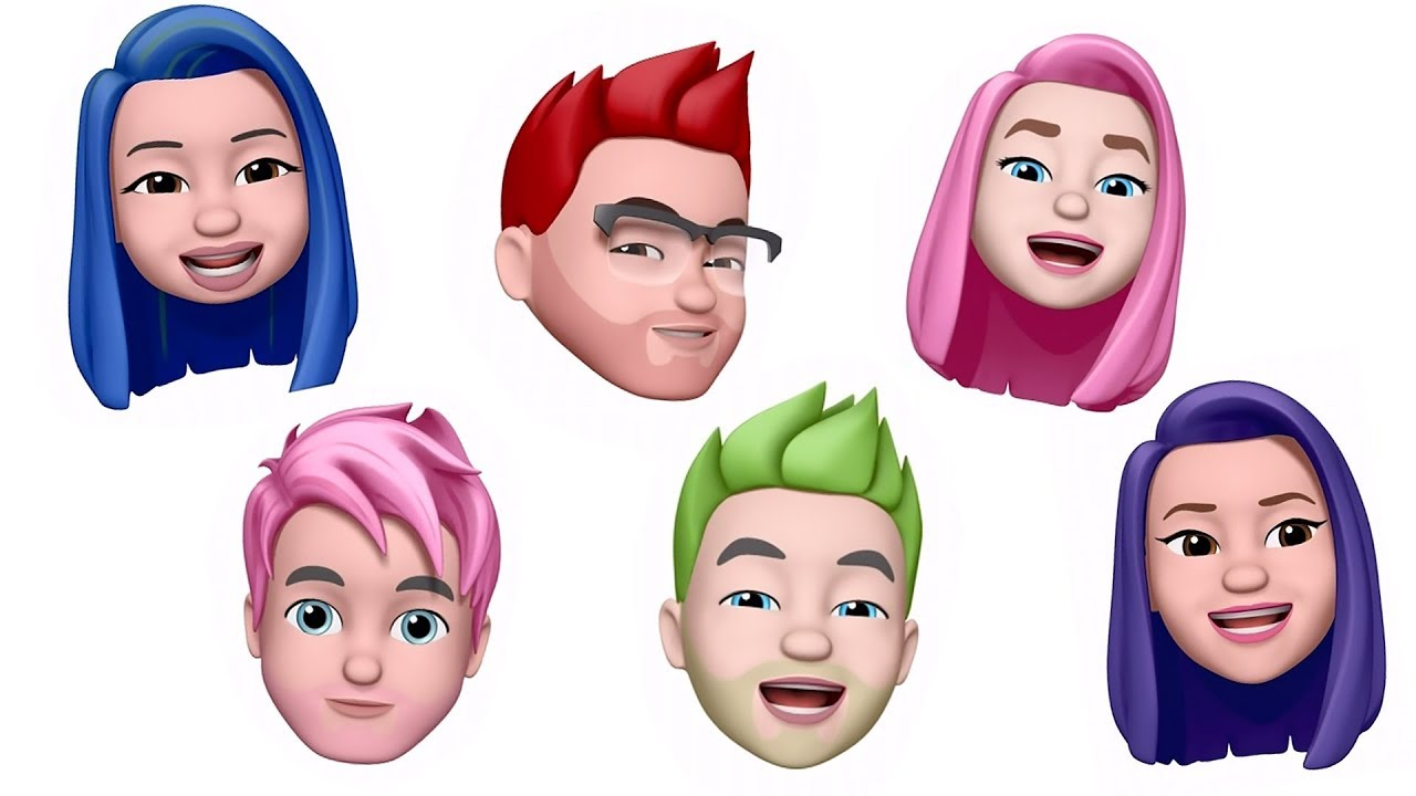 youtuber-memoji-s-animoji