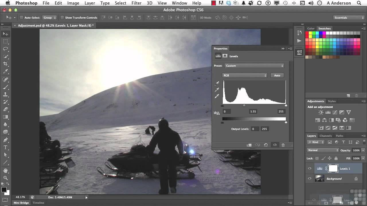 Adobe photoshop cs6 tutorial advanced tips for adjustment layers adobe photoshop cs6 tutorial advanced tips for adjustment layers infiniteskills baditri Choice Image