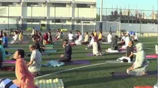UAE Art of Living Maha Kriya 2013