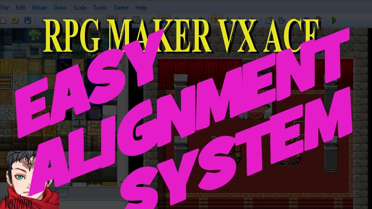 RPG Maker VX Ace Tutorial 17: Easy Alignment System (Variables)