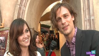 Laguna Arts Festival Interviews - Matthew Gray Gubler, Jon Huertas, Josh Malina and more!