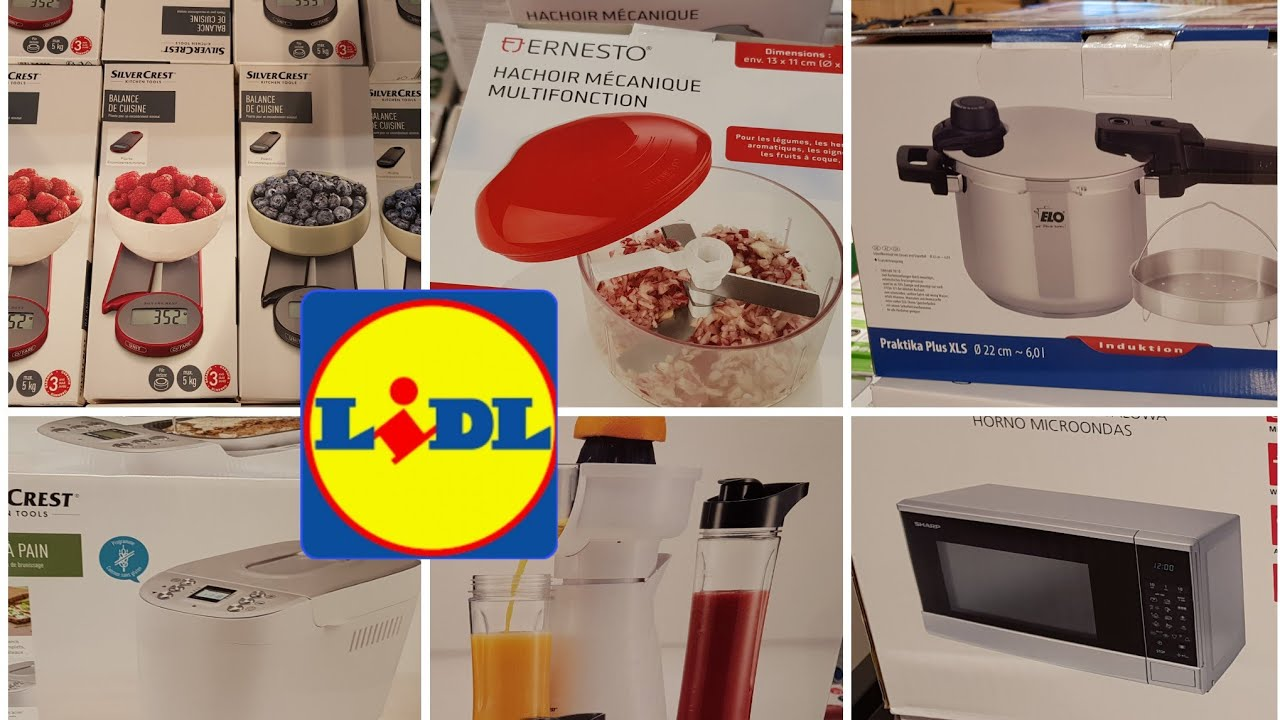 Arrivage Lidl 1 Aout 2019 Youtube