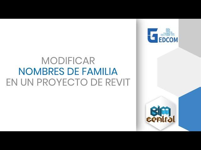 Cambiar los nombres de las familias en Revit con Dynamo