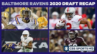 Baltimore Ravens pull off a GREAT draft | 2020 NFL Draft | CBS Sports HQ