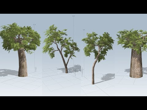 Tree Modeling speed tree tutorial
