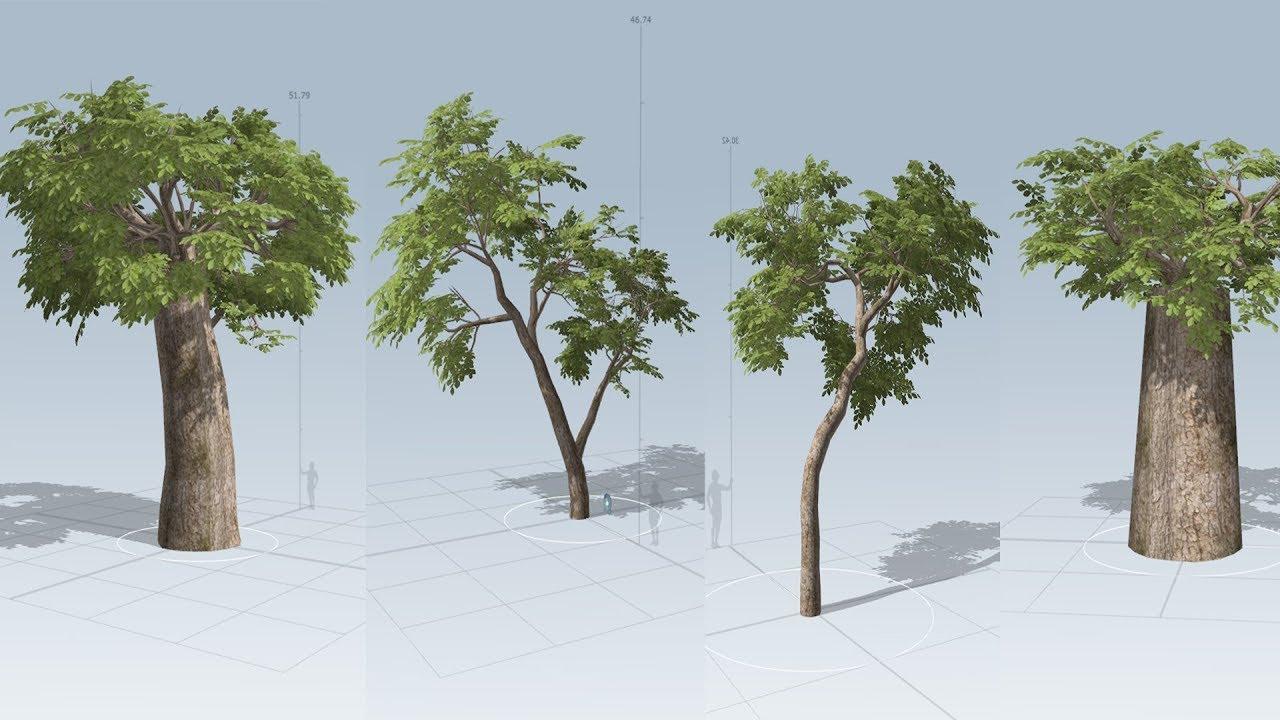 Tree Modeling speed tree tutorial