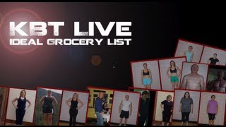 Grocery List | How To Eat Healthy | Lose Weight