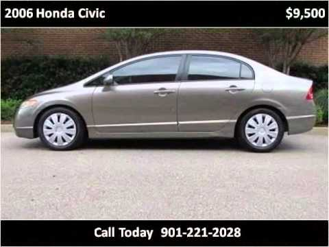 2006 honda civic used cars olive branch ms youtube. Black Bedroom Furniture Sets. Home Design Ideas