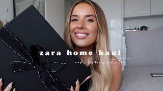 ZARA HOME HAUL + HOME UPDATES | Hello October