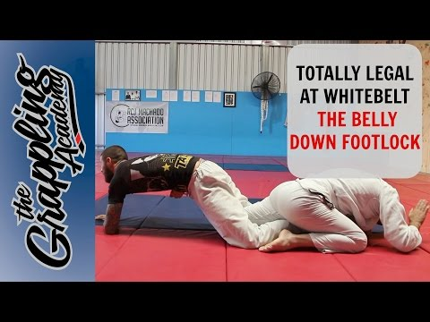 Totally LEGAL at Whitebelt - The Belly Down Footlock!