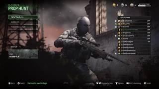 Call of Duty: Modern Warfare - Prop Hunt, RPGs Only, & TDM (With Zombie) | Wowwwww