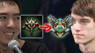 BUNNY FUFUU AND THEODDONE IN MY GAME?! ADC to Masters - League of Legends Commentary