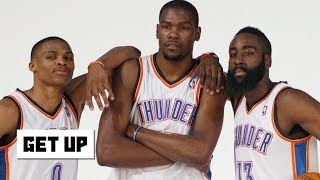 This isn't OKC, Westbrook has to defer to Harden on the Rockets - Jalen Rose | Get Up
