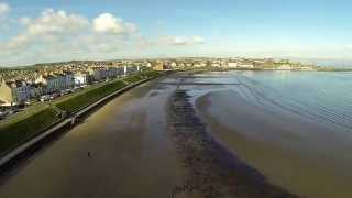 FPV flight Ballyhome beach 1