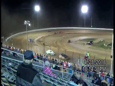 4-28-18  PLYMOUTH SPEEDWAY, IN   MOD - FEATURE