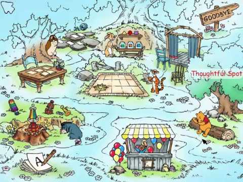 lets play winnie the pooh kindergarten part 1