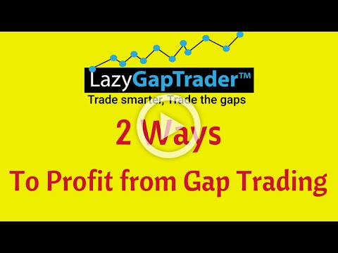 2 ways to profit from gap trading strategies