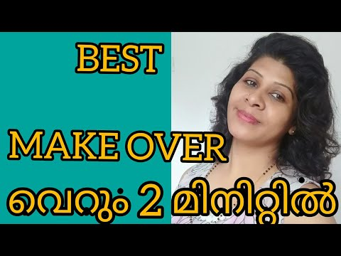 Makeover With In 2 Minutes   Beauty Tips For Hair    Youtube Beauty