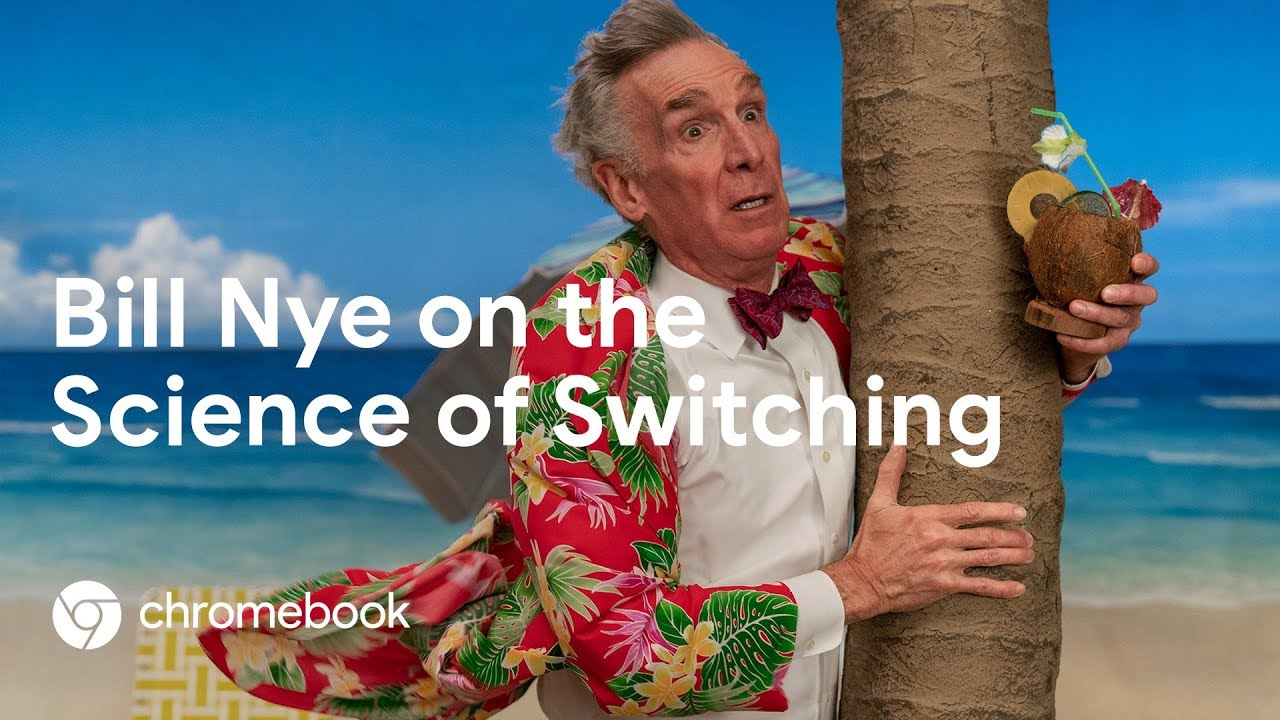 Bill Nye partners with Google Chromebook to explain the science of fea