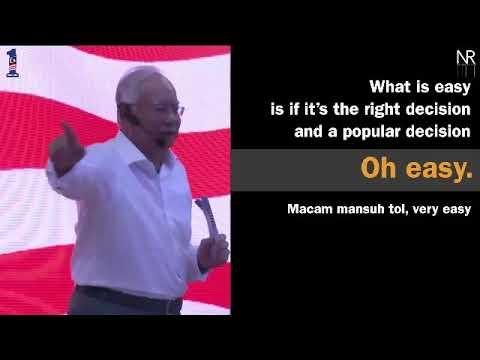 [Video] Di mana yang boleh, saya akan hapuskan tol, PM Najib