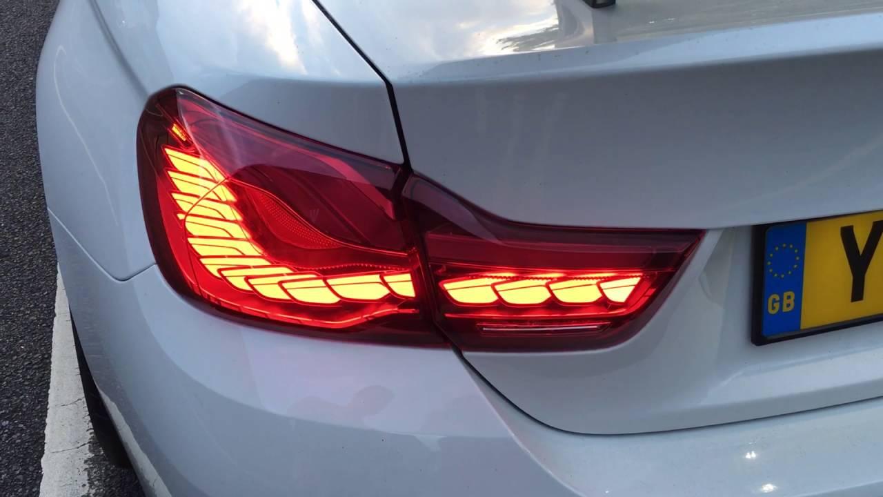 2017 Bmw M4 >> BMW M4 GTS OLED Rear Lights - YouTube