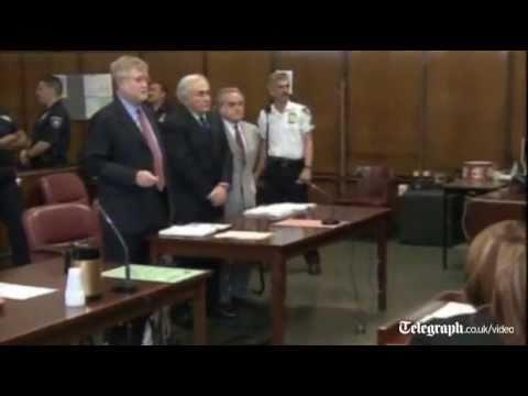 Dominique Strauss-Kahn pleads not guilty