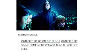 Hilarious Harry Potter Tumblr Posts