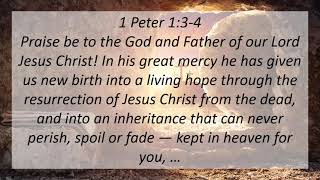 Easter Sunday Worship Service, April 4, 20201