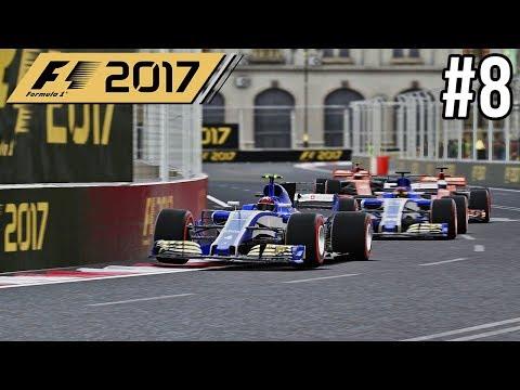 EINDELIJK EEN NIEUW CONTRACT! - F1 2017 Career Mode #8 (Grand Prix Azerbaijan)