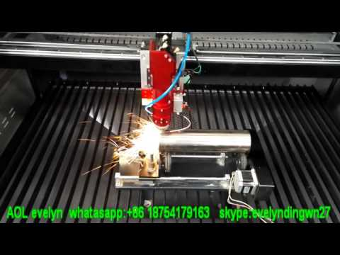 AOL metal and nonmetal laser cutting machine for SS pipe