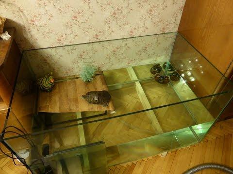 Как сделать аквариум для черепахи своими руками