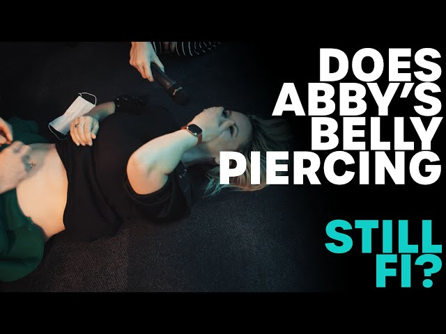Does Abby's Belly Piercing Still Fit!? | B105