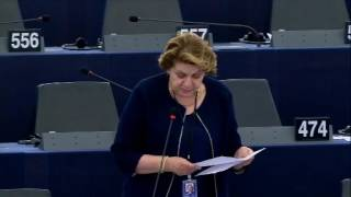 Intervento in aula di Caterina Chinnici sulla lotta alla frode che lede gli interessi finanziari dell'Unione mediante il diritto penale