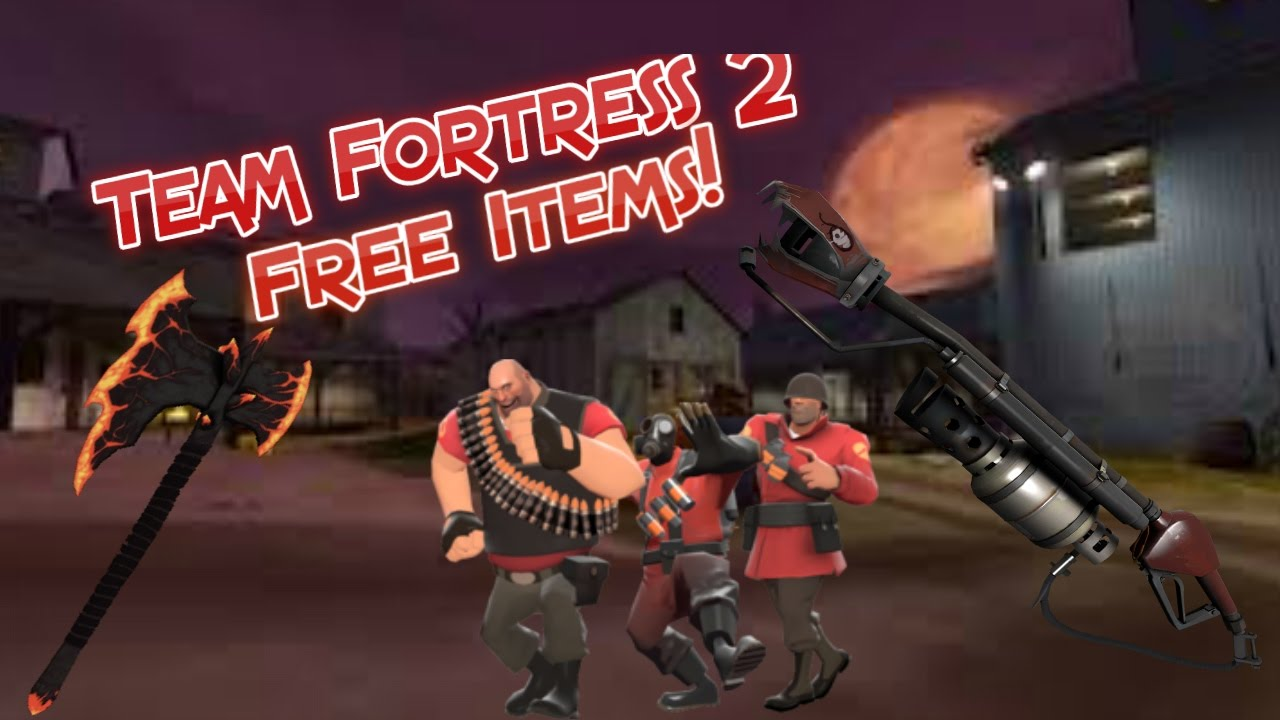 how to get free items in tf2 2018